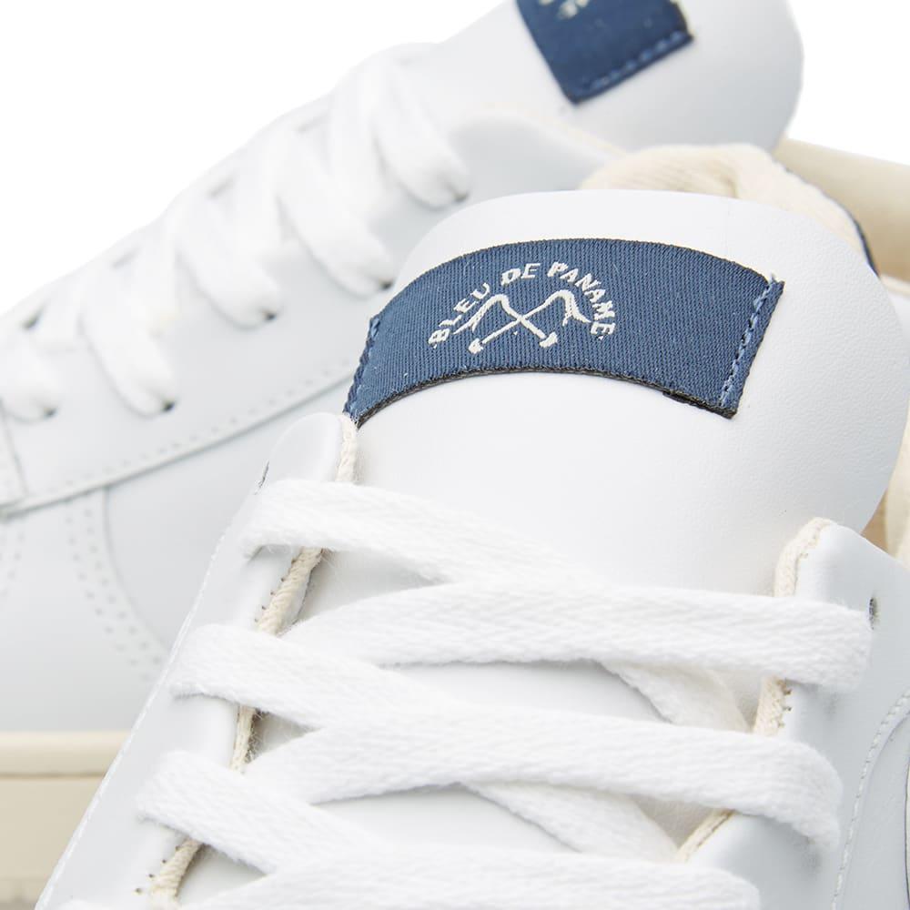 espectro Para exponer Creación  Veja x Bleu de Paname Pack Man v10 Leather Extra White & Nautico Pierre    END.