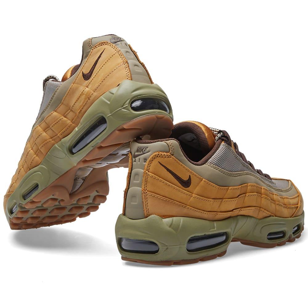 Mens 538416 700 Shoes Wheat Pack Nike Air Max 95 Premium