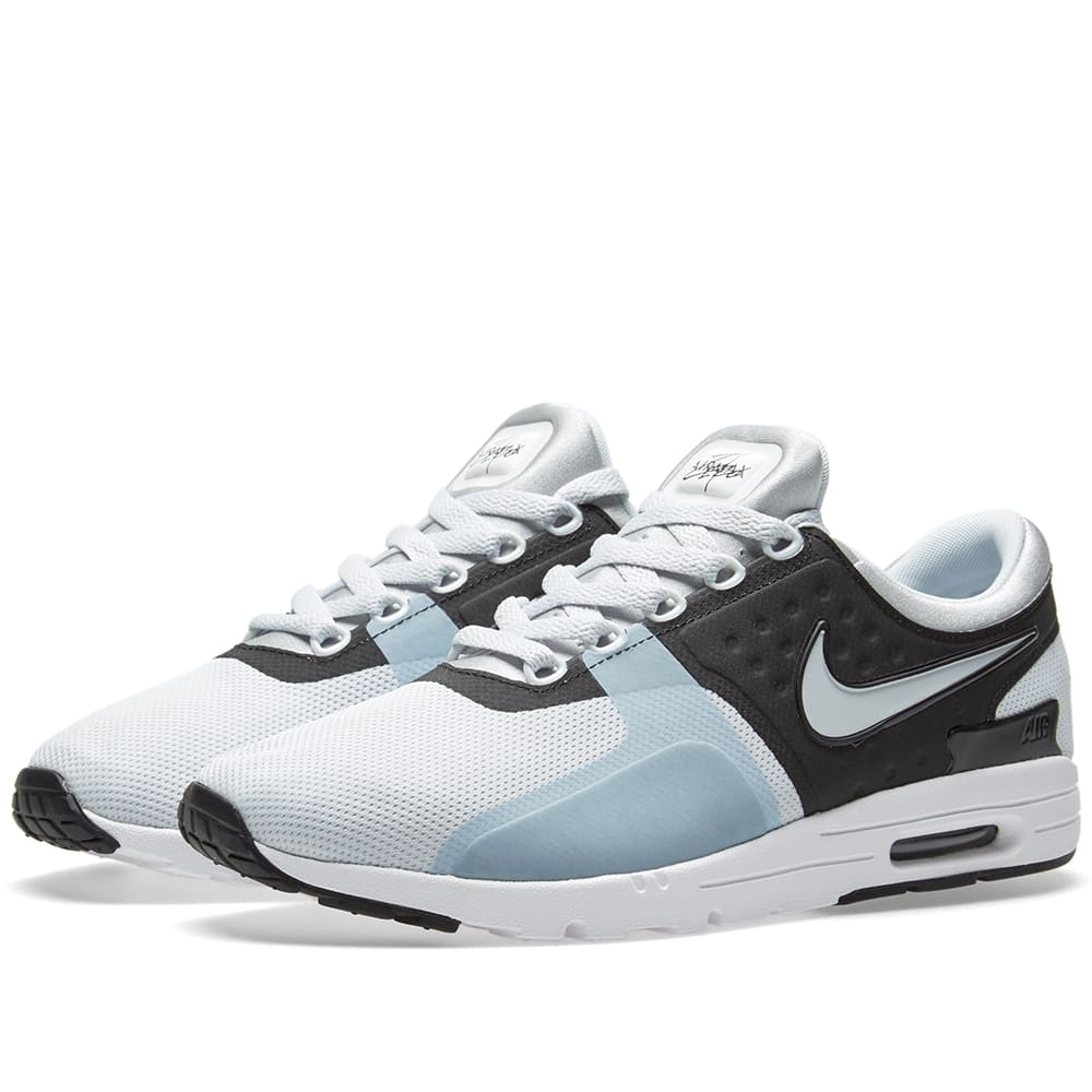 best sneakers 9ee5f 64db3 Nike W Air Max Zero Pure Platinum, Black   White   END.
