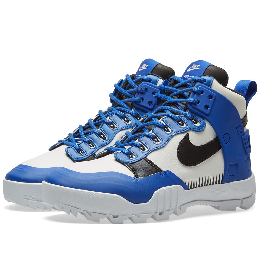 promo code d0590 f44dd Nike x Undercover SFB Jungle Dunk White, Black & Game Royal | END.