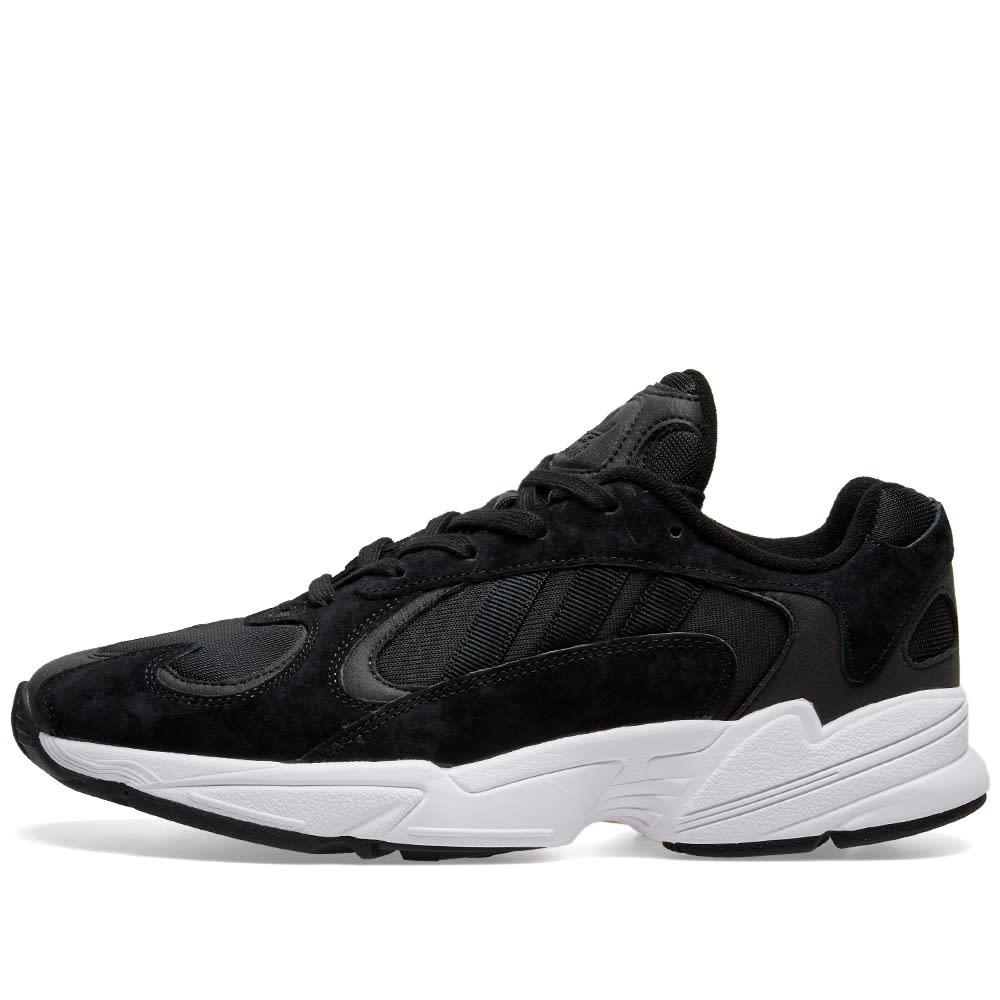 Adidas Yung 1 Core Black \u0026 White | END.