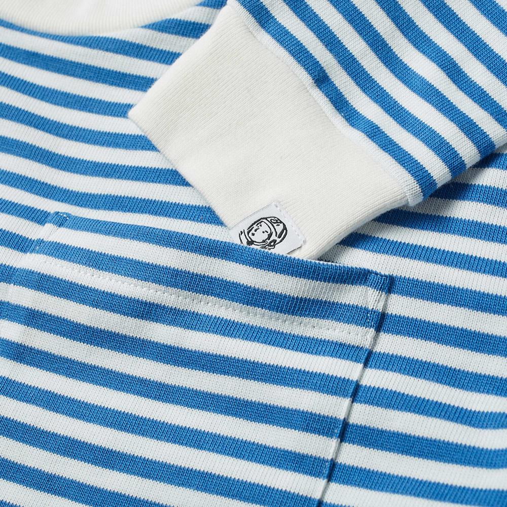 e96ec465 Billionaire Boys Club Long Sleeve Stripe Helmet Tee Blue & White | END.
