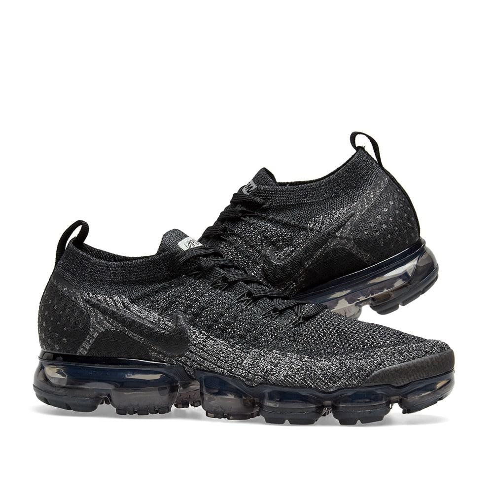 f407ea3dfdd Nike Air VaporMax Flyknit 2 Black & Dark Grey | END.