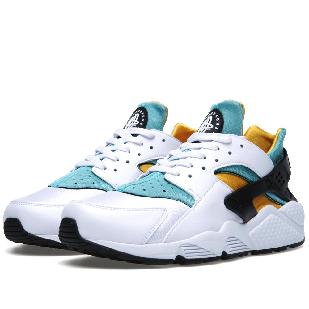 reputable site 38837 ab332 Nike Air Huarache White, Sport Turquoise   Unive   END.