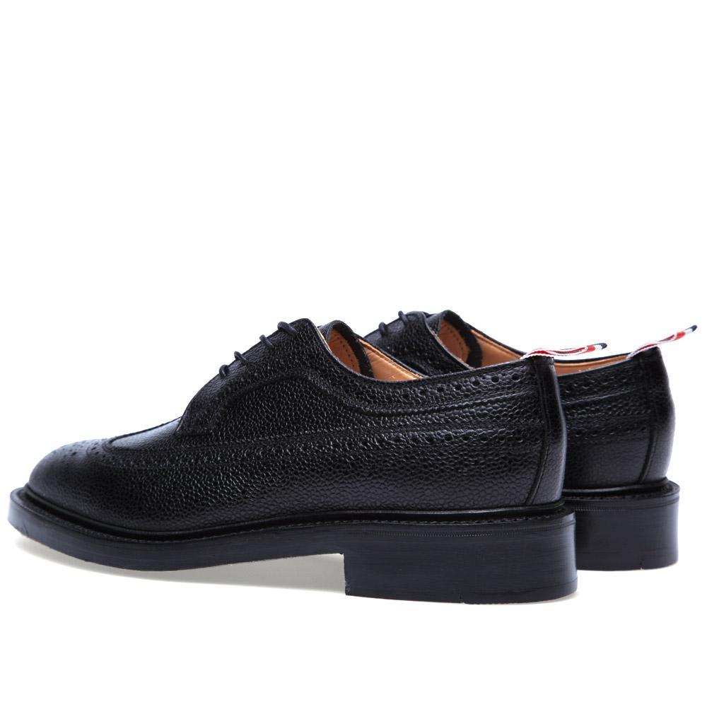Thom Browne Wingtip Pebble Shoe