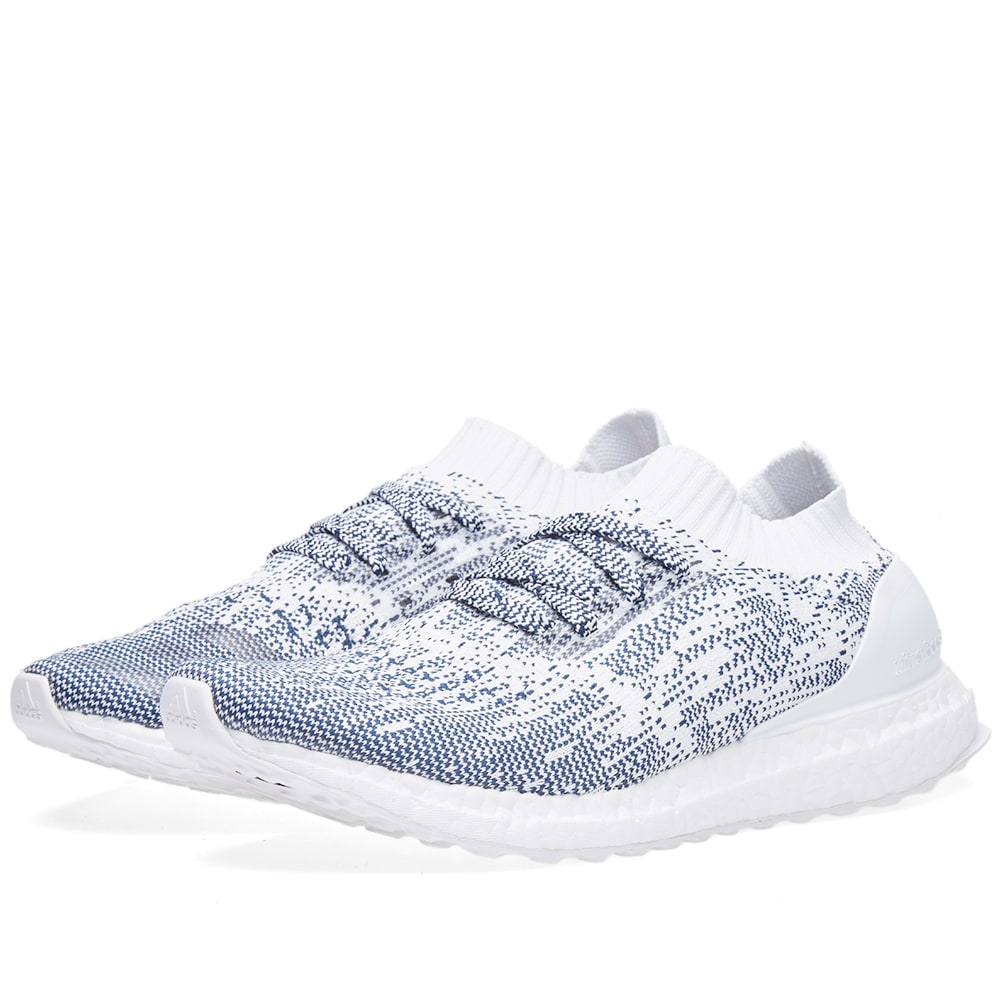 official photos 7f4a6 10728 Adidas Ultra Boost Uncaged White   Collegiate Navy   END.