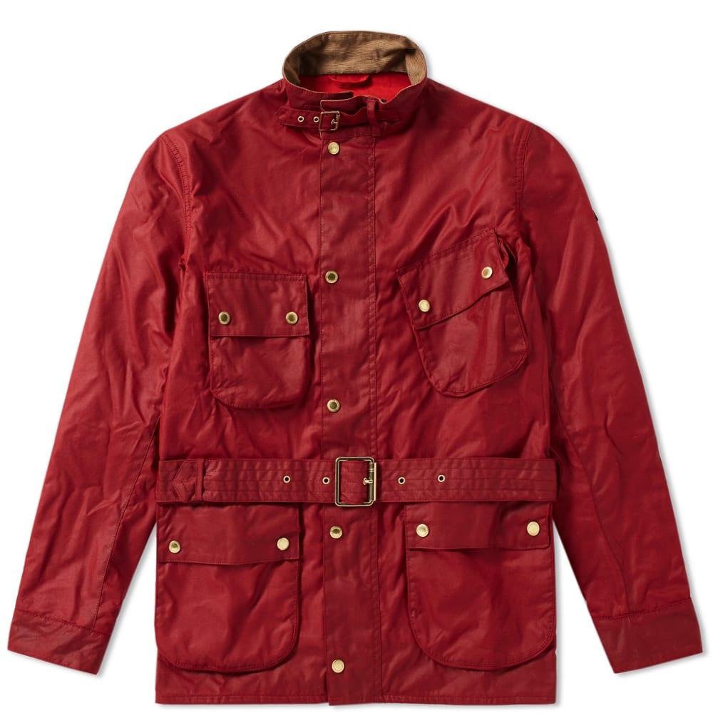 Barbour International Gauging Wax Jacket