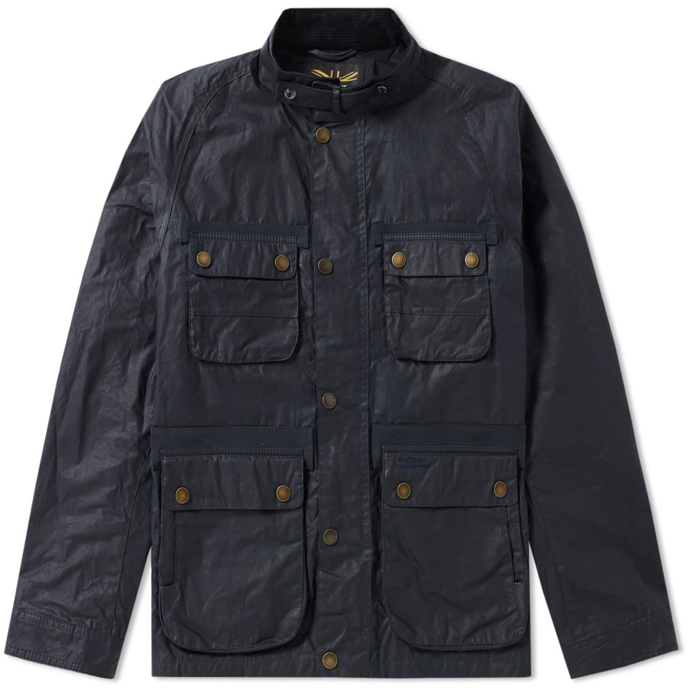 Barbour x Land Rover Hirta Wax Jacket
