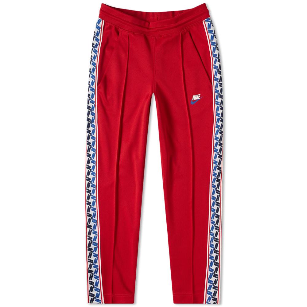 0da15238e14060 Nike Taped Poly Pant Gym Red   Sail