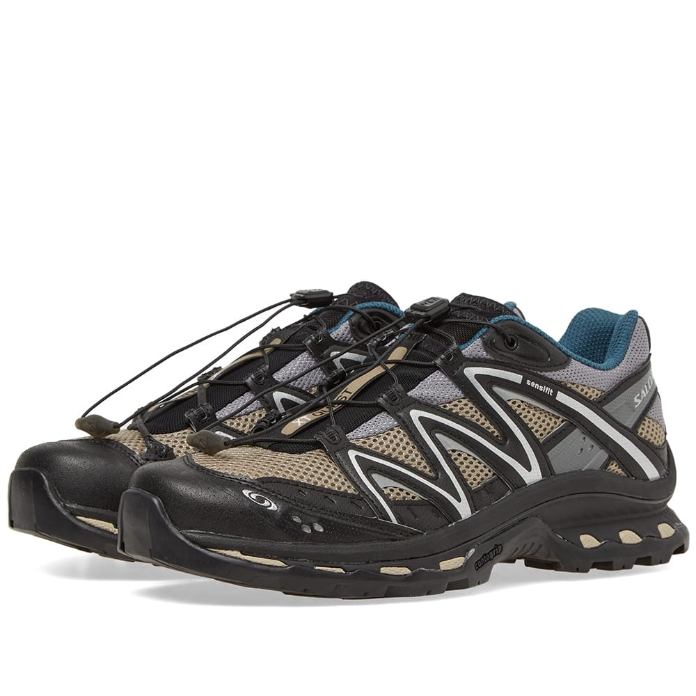 meet fe59a 0cc82 Salomon XT-Quest Advance Vintage Khaki, Black   Silver   END.
