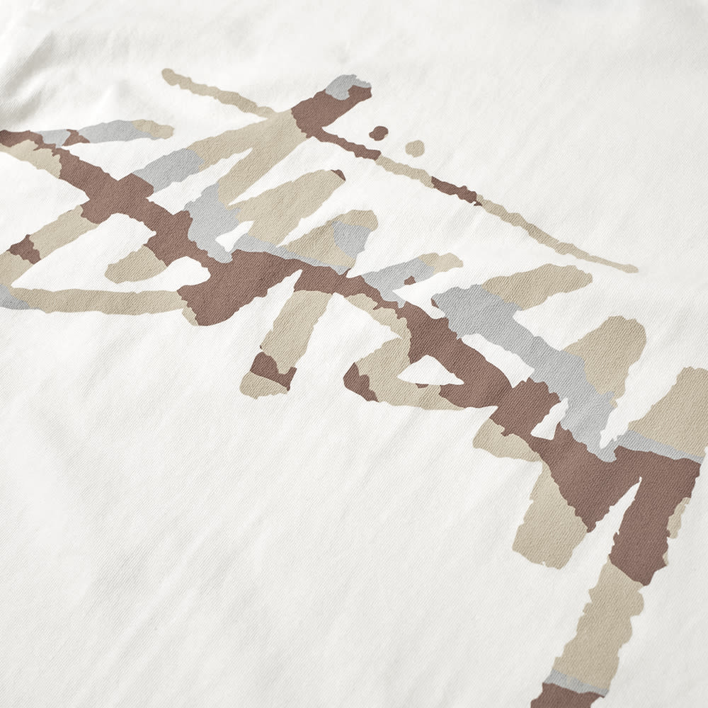 7a1cb05e Stussy Long Sleeve Camo Stock Pocket Pigment Dyed Tee Natural | END.