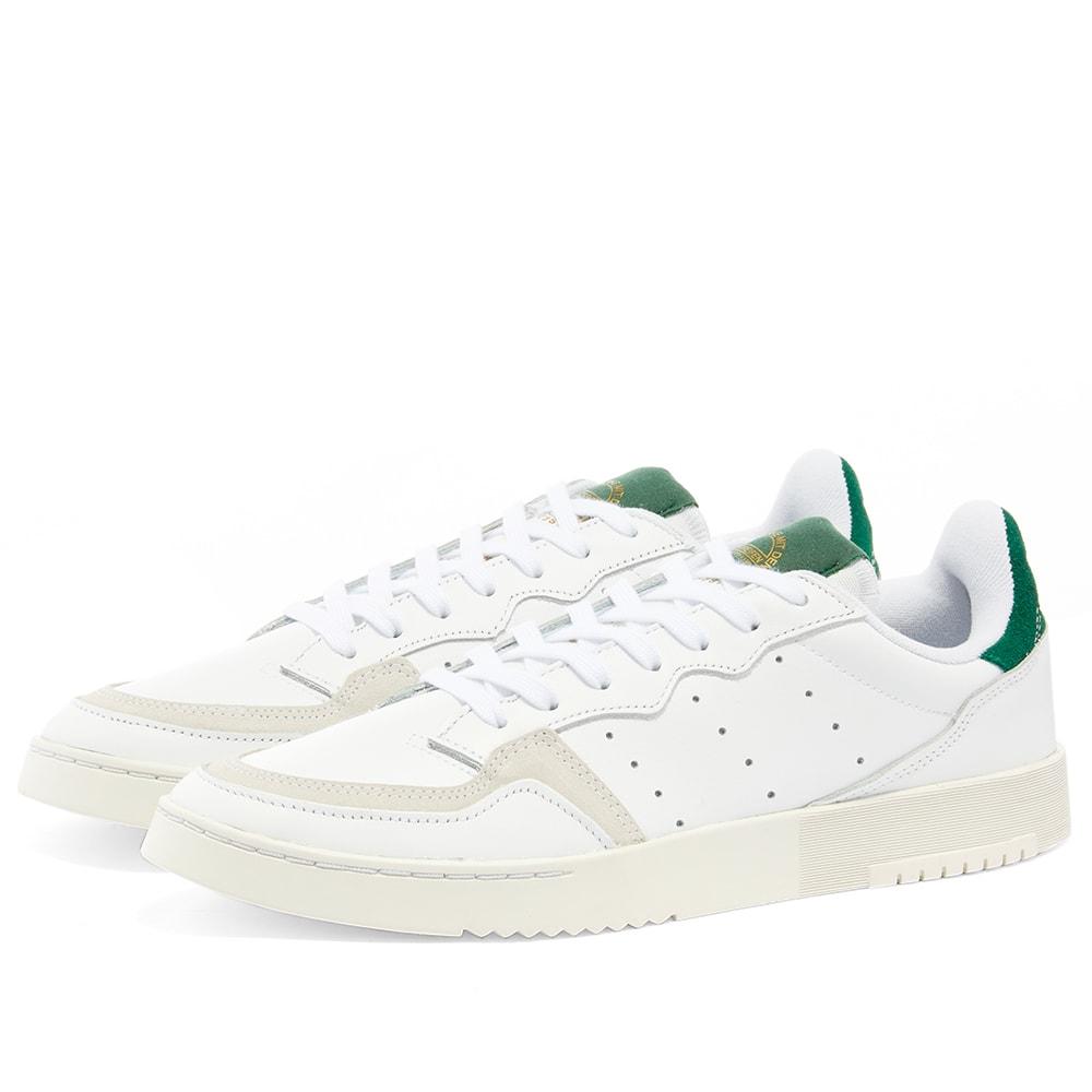 Adidas Supercourt White \u0026 Collegiate