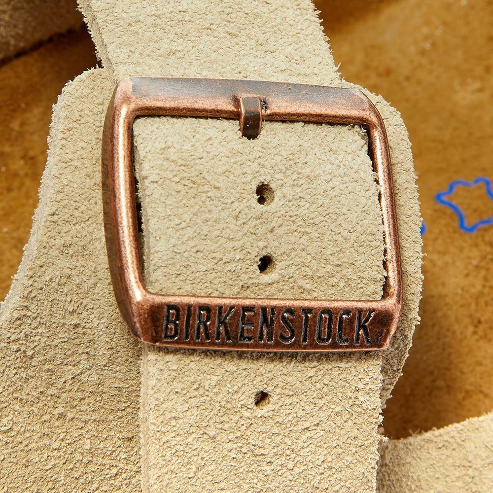 birkenstock arizona sfb taupe suede