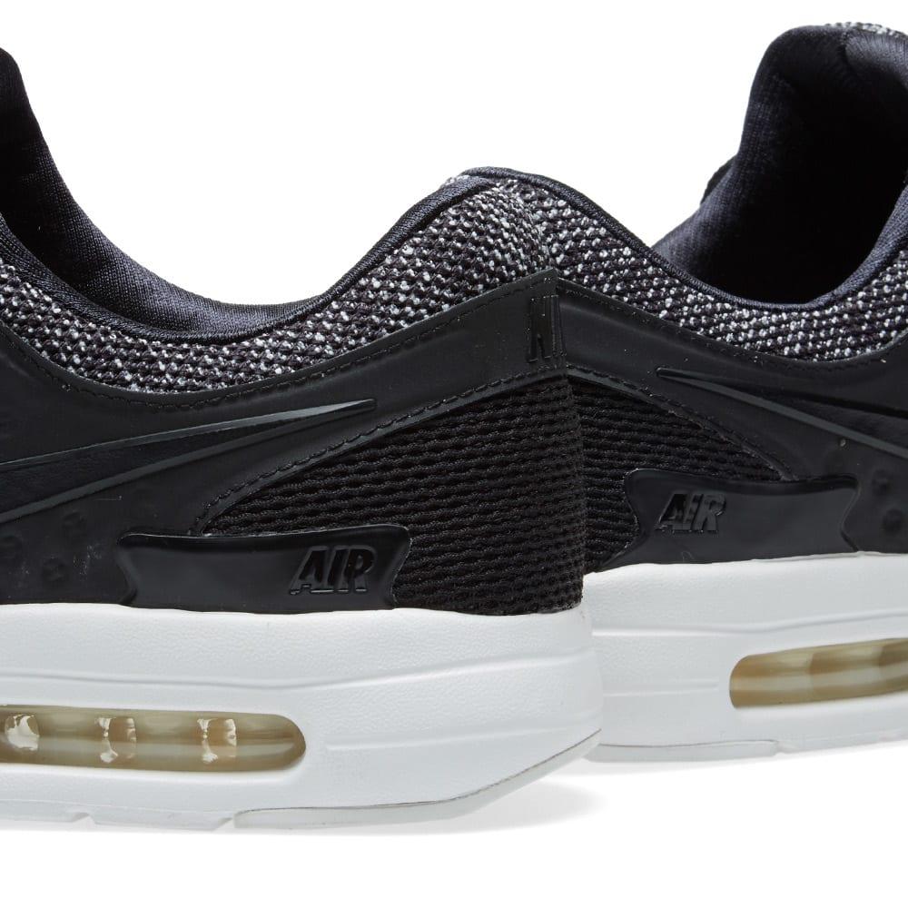 MEN'S NIKE AIR Max Zero BR Running Shoes Black Pale Grey