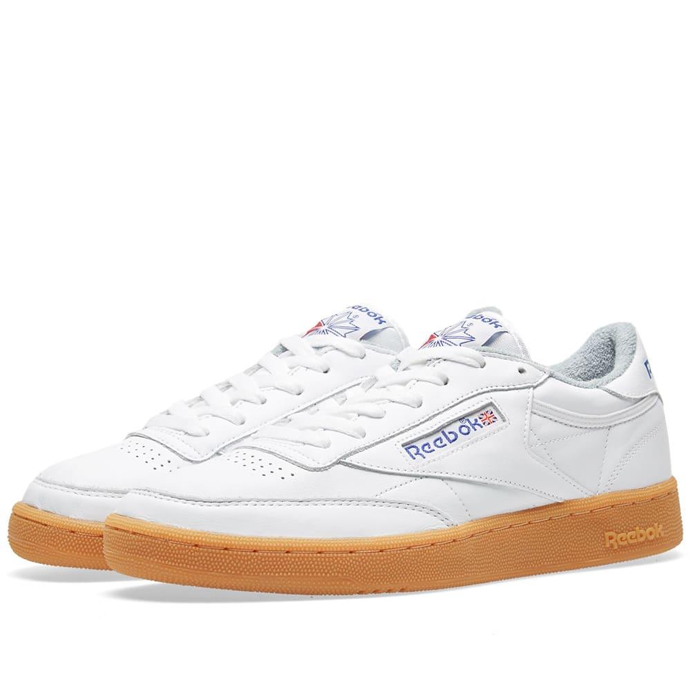 9758826fcaa Reebok Club C 85 Gum White   Reebok Royal