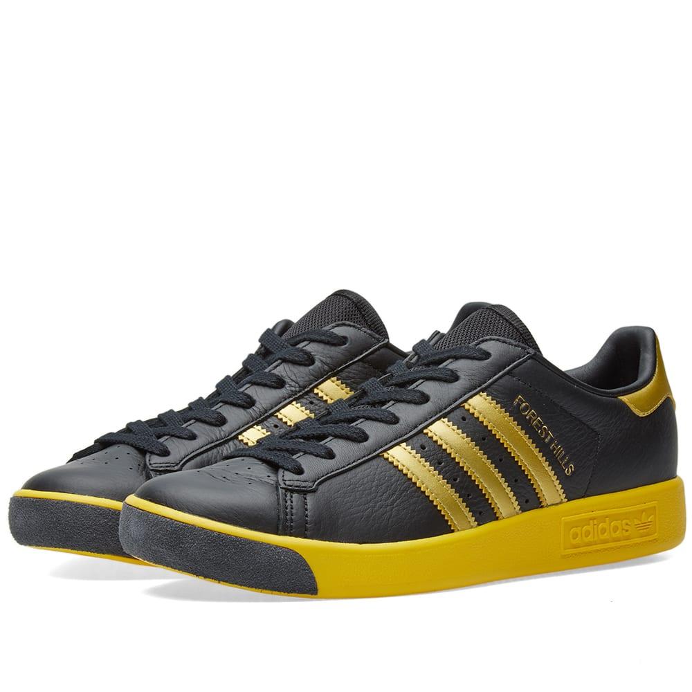 Adidas Forest Hills Black, Gold