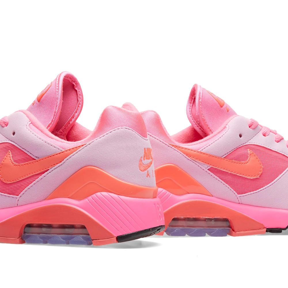 online store 22e65 3ce3b Comme des Garcons x Nike Air Max 180 Pink   Black   END.