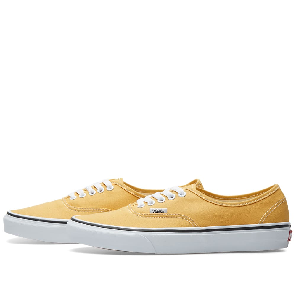 47de887dcf Vans Authentic Ochre   True White