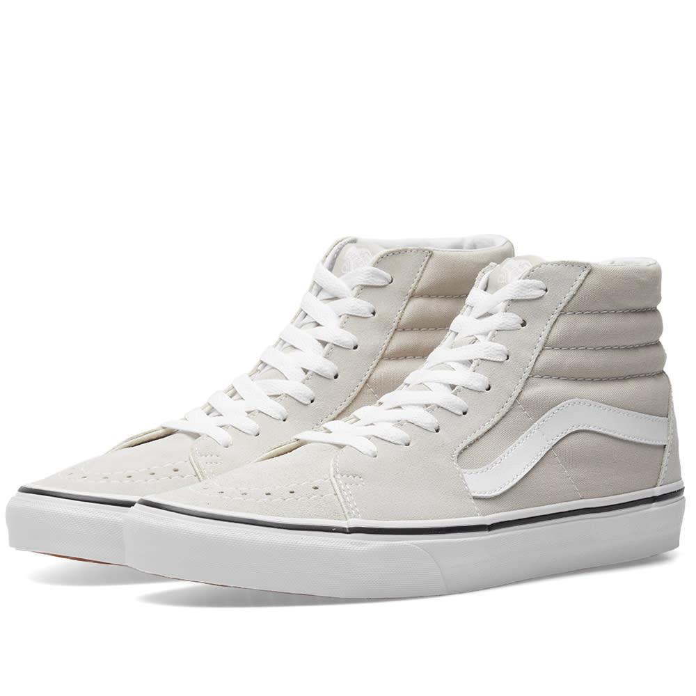 Vans Sk8-Hi Silver Lining \u0026 True White