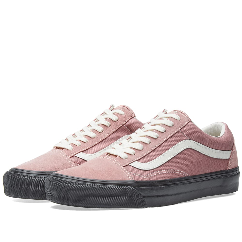 5a0db4264562 Vans Vault OG Old Skool LX Ash Rose   Black