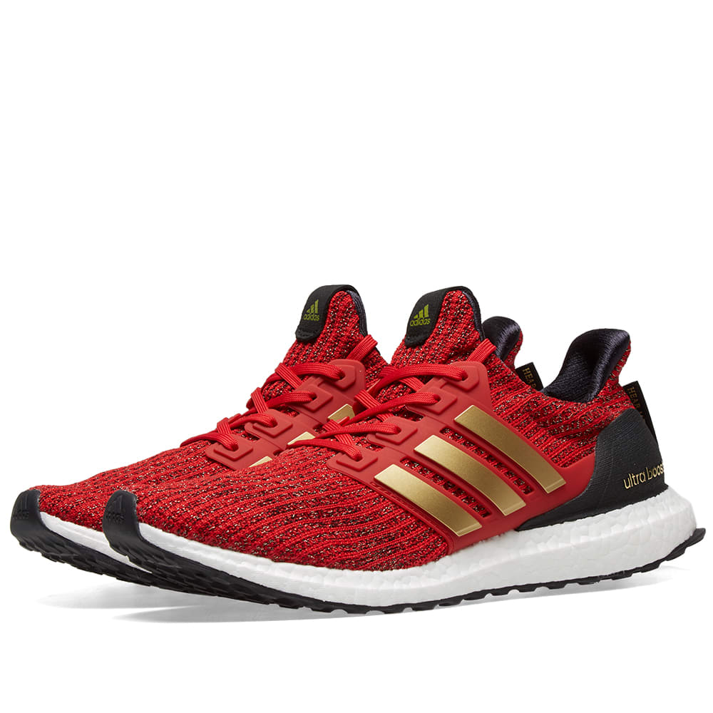 quality design 2cef8 90981 Adidas Ultra Boost x Game Of Thrones W Scarlet, Gold   Core Black   END.