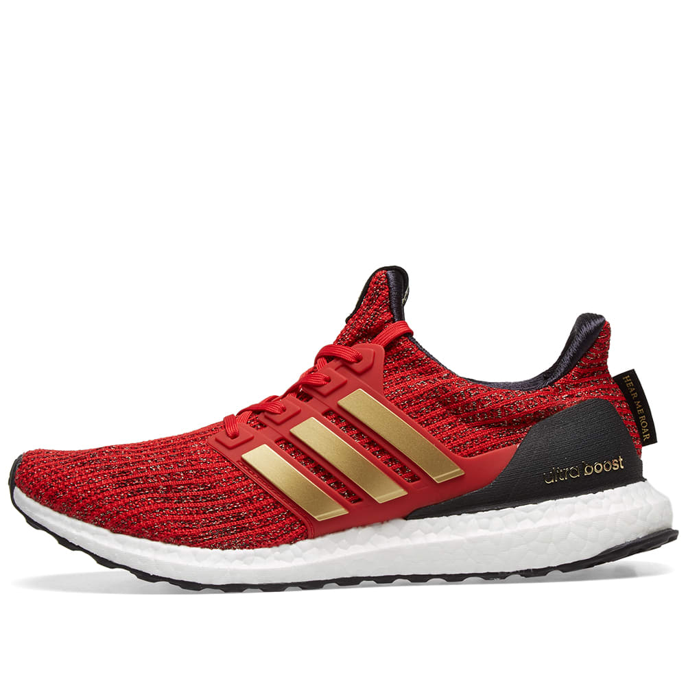 quality design a6584 a5d98 Adidas Ultra Boost x Game Of Thrones W Scarlet, Gold   Core Black   END.