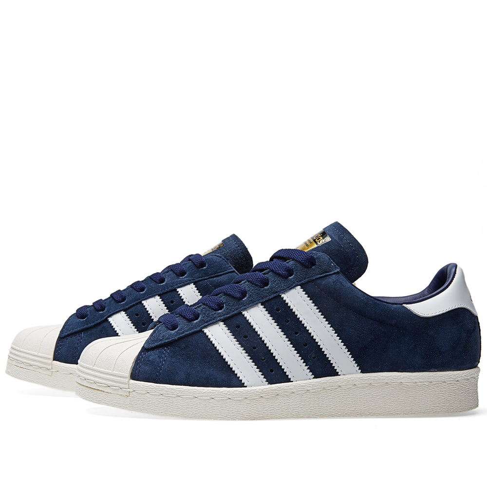 save off fd7b1 ee7a0 Adidas Superstar 80s DLX Suede