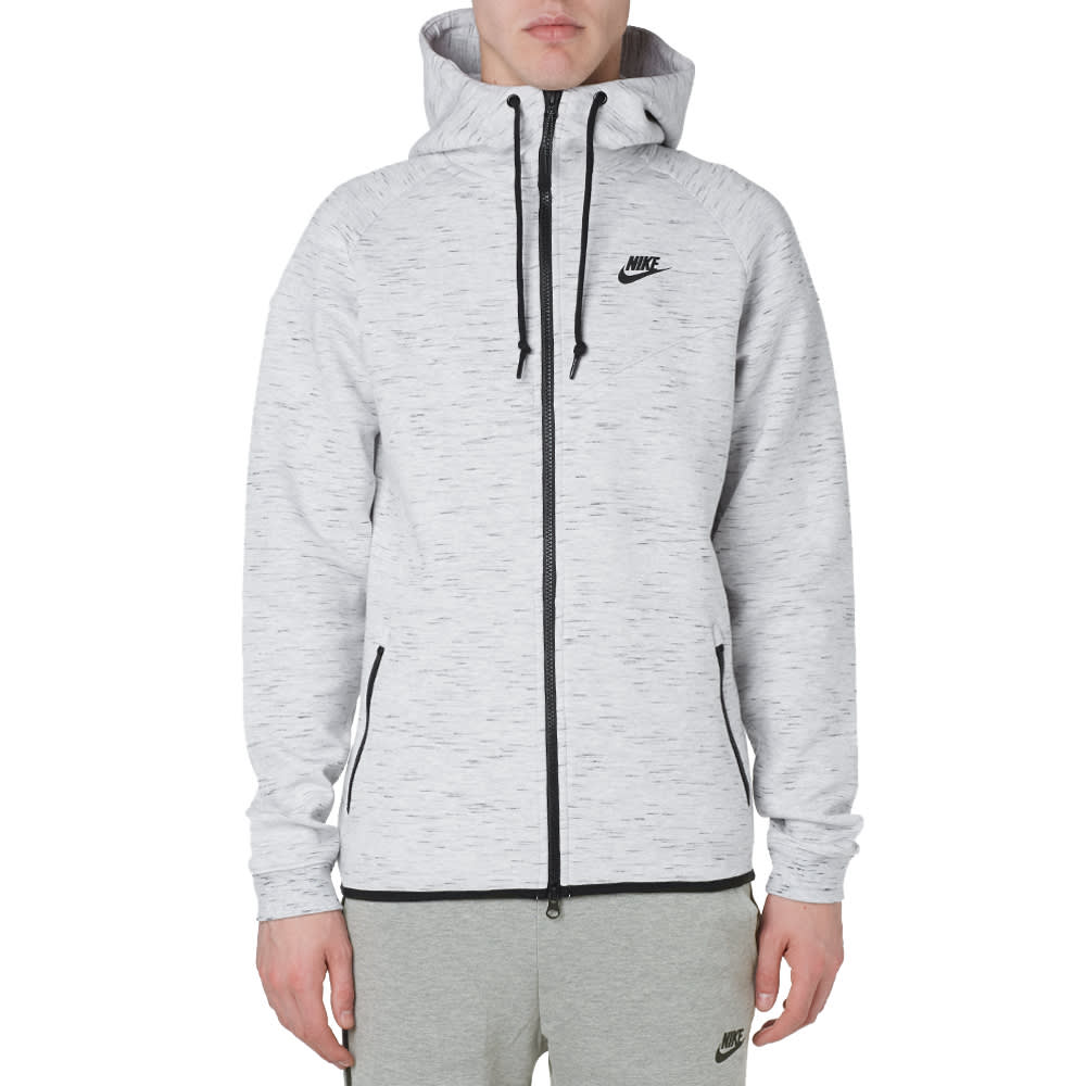 nike tech fleece windrunner birch heather black. Black Bedroom Furniture Sets. Home Design Ideas