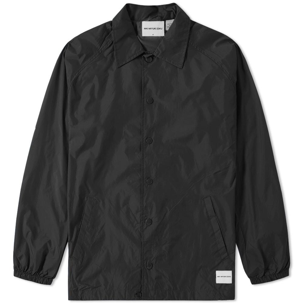 MKI Mki Unlined Coach Jacket in Black