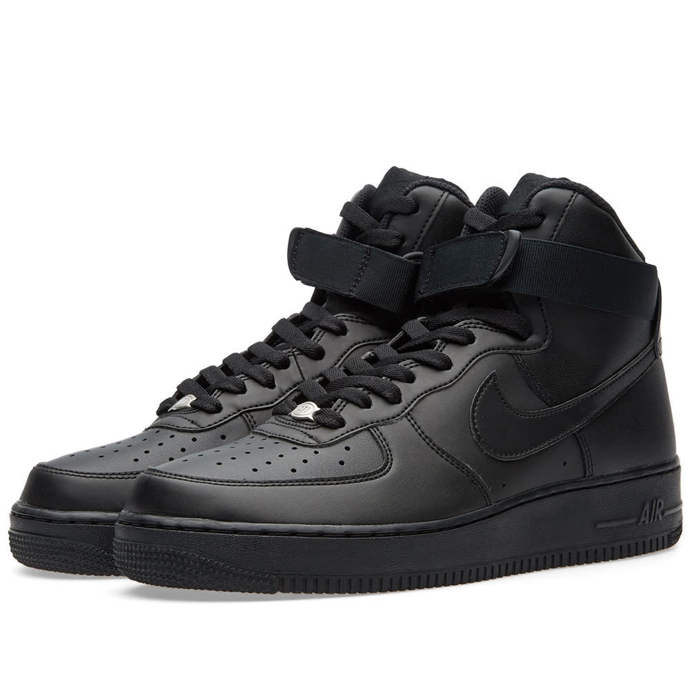 nike air force 1 high 39 07 black. Black Bedroom Furniture Sets. Home Design Ideas