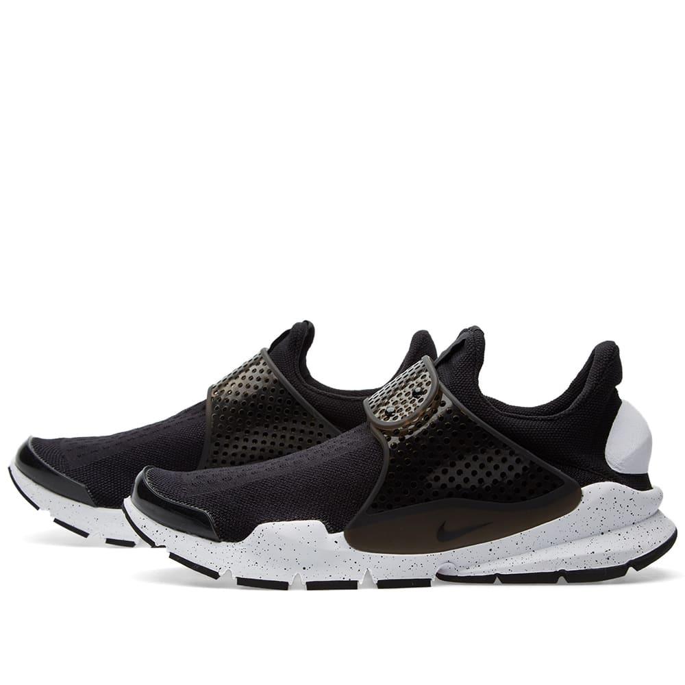 separation shoes bd2de 61707 Nike Sock Dart SE Black & White | END.
