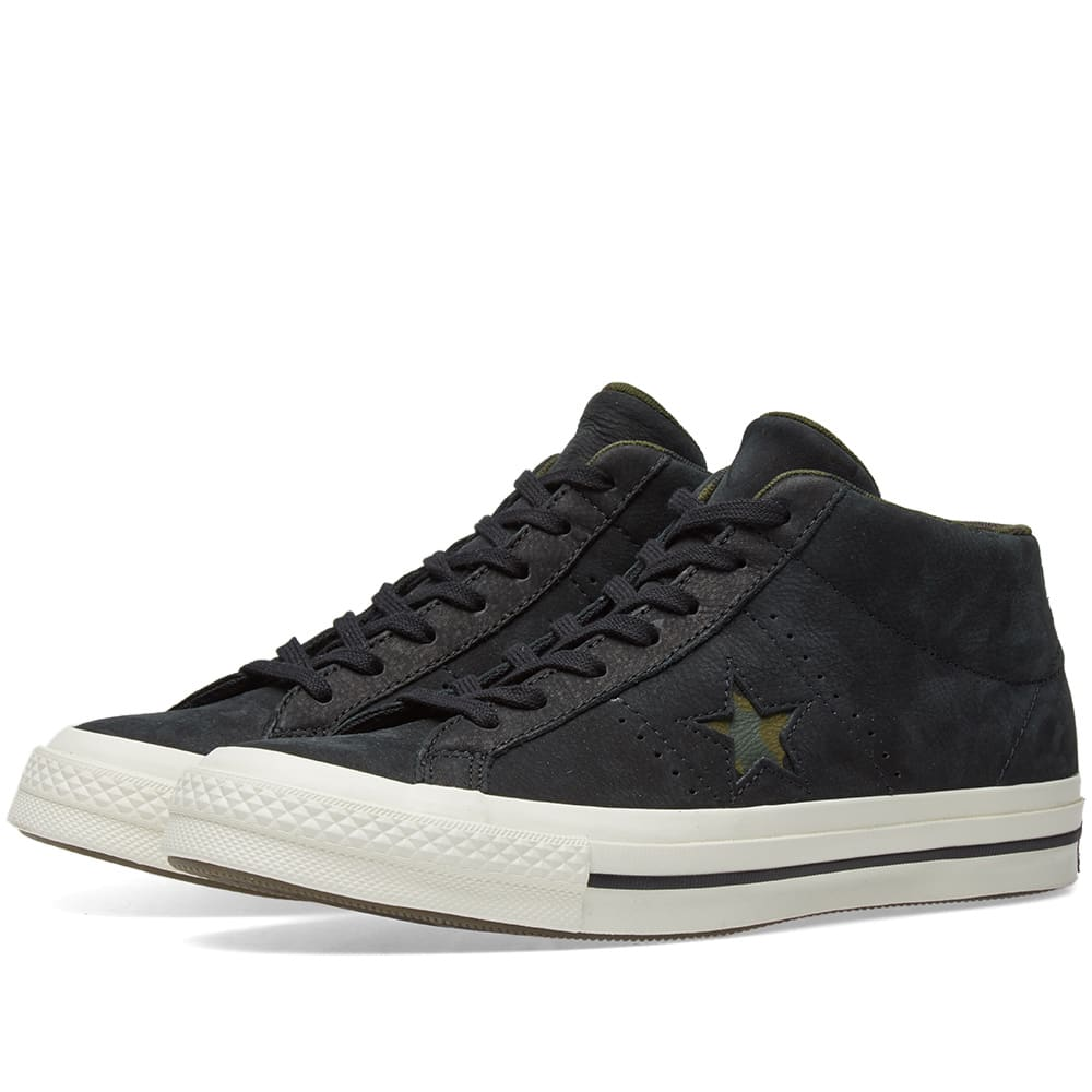 714c0a1935f4 Converse One Star Mid Camo Pack Black