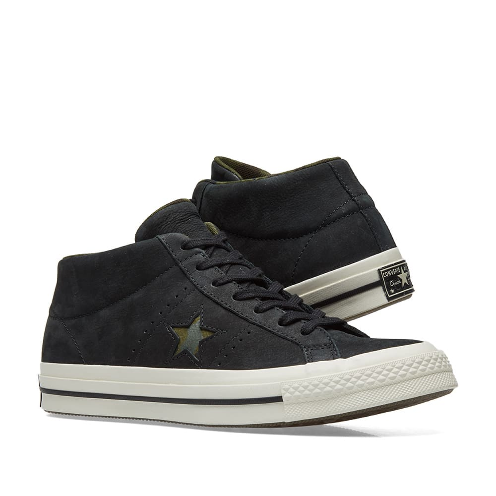 4d248a1141c2 Converse One Star Mid Camo Pack. Black