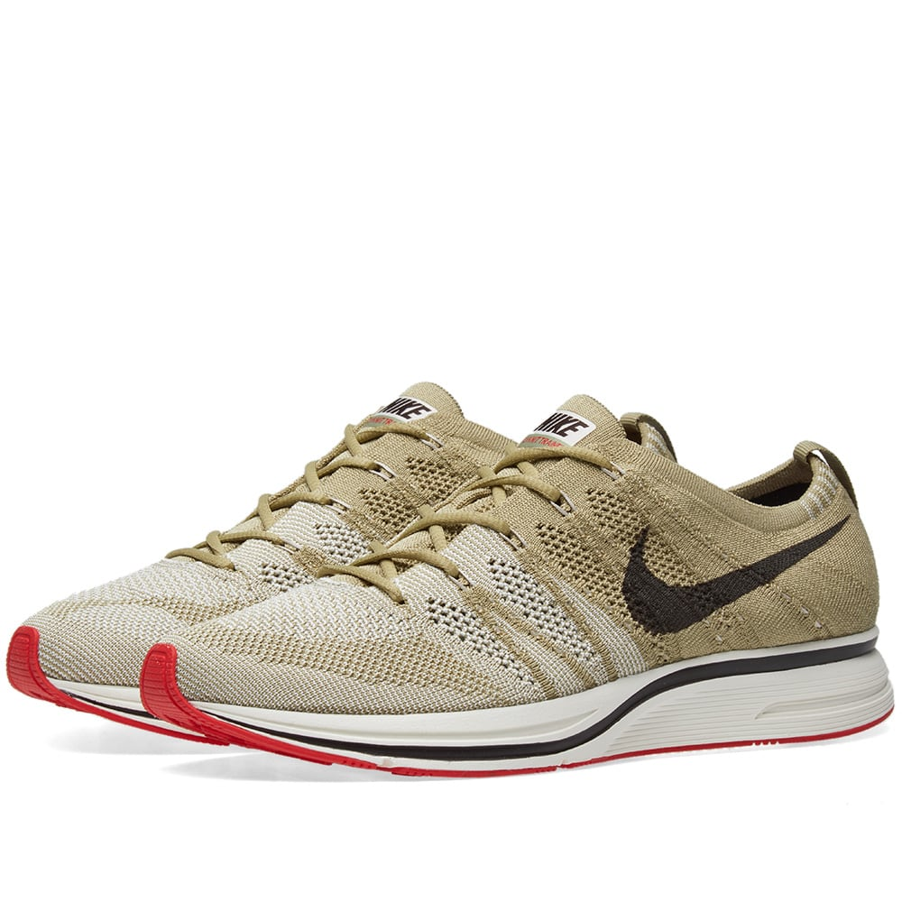 0bbd96014f60a Nike Flyknit Trainer Olive