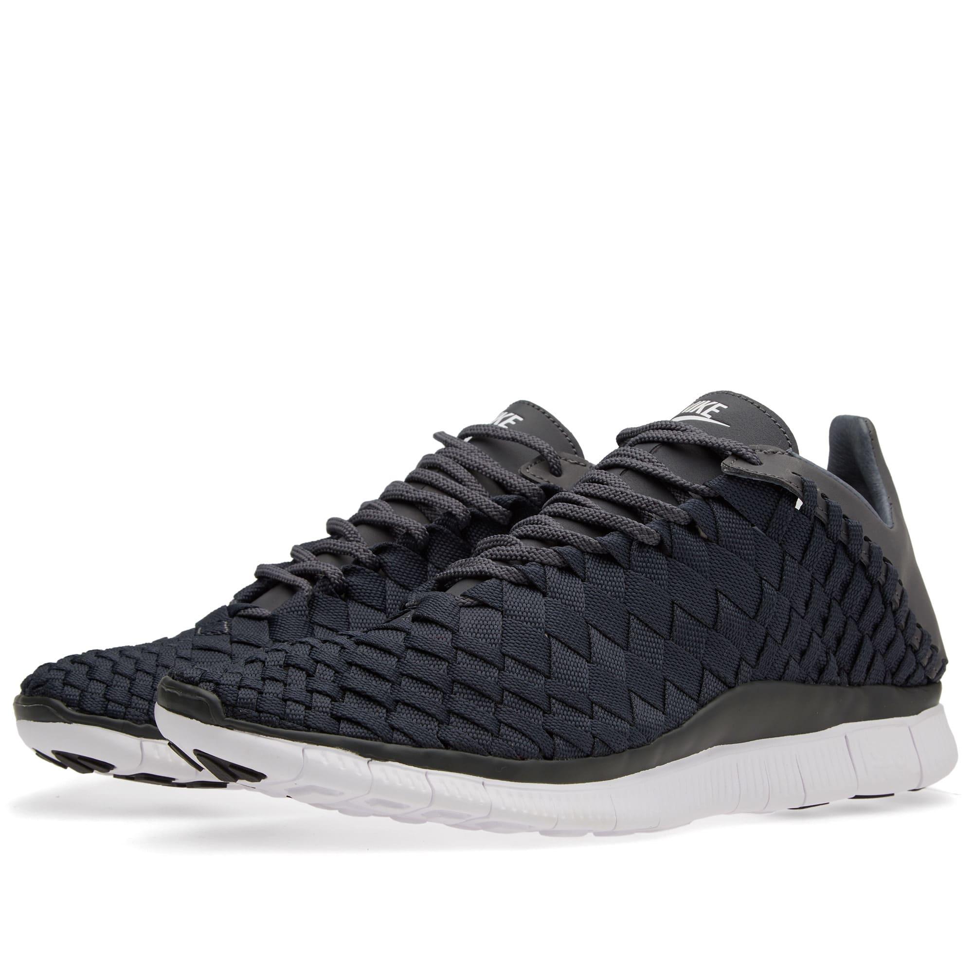 check out 55b15 f30e5 Nike Free Inneva Woven Anthracite, White   Dark Grey   END.