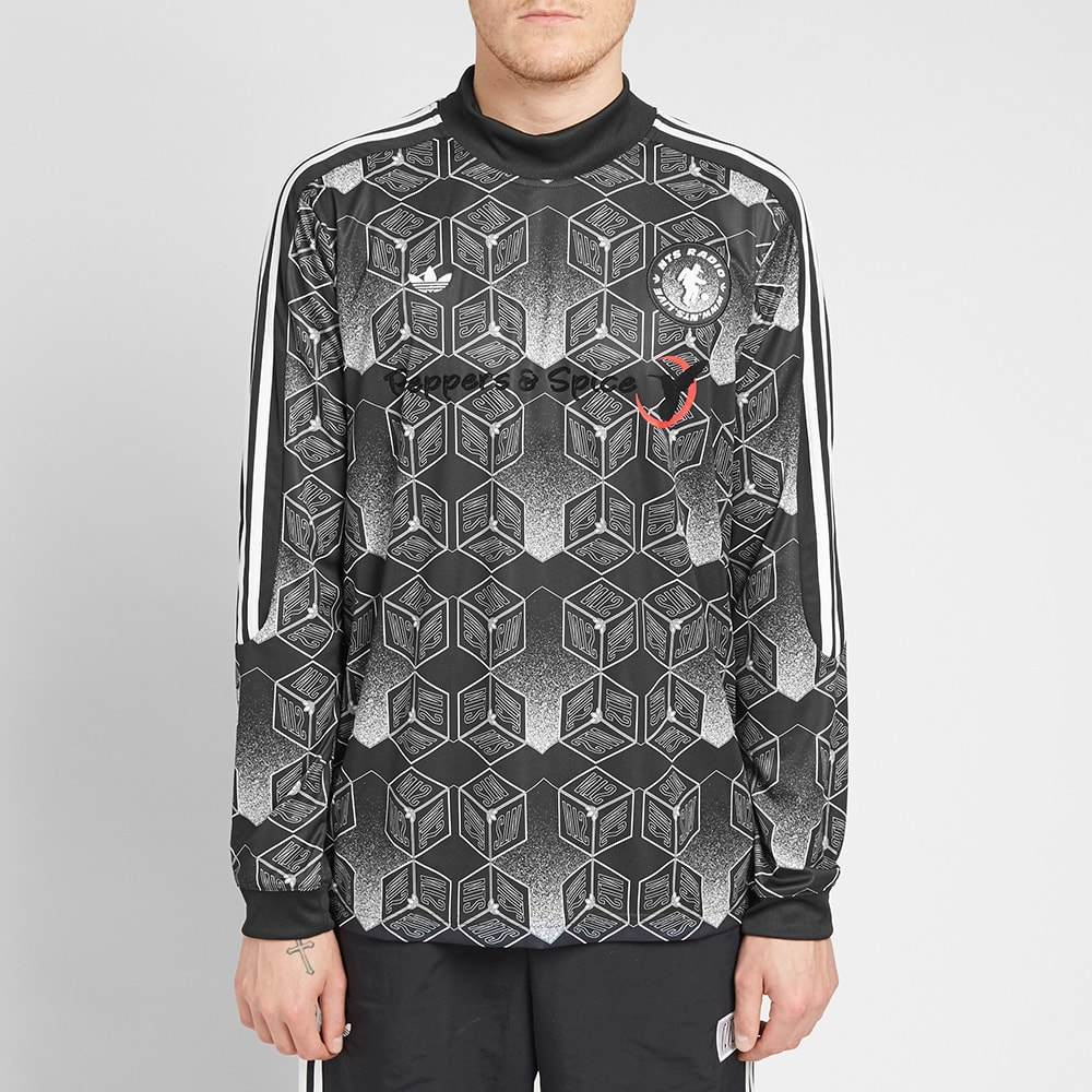 7c72e6609d2 Adidas x NTS Radio x Spirit Forecast Goalkeeper Jersey Black
