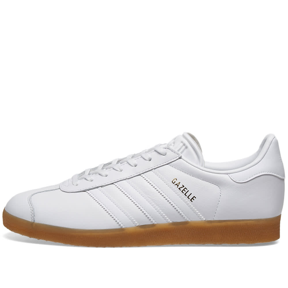 a7d2477db1 Adidas Gazelle White & Gum | END.