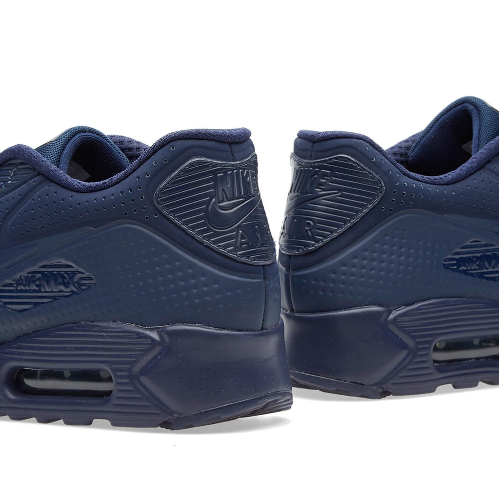 Nike Air Max 90 Ultra Moire Midnight Navy White | 5Pointz