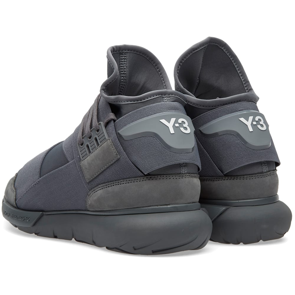 the latest 6aa33 724bf Y-3 Qasa High Vista Grey   END.