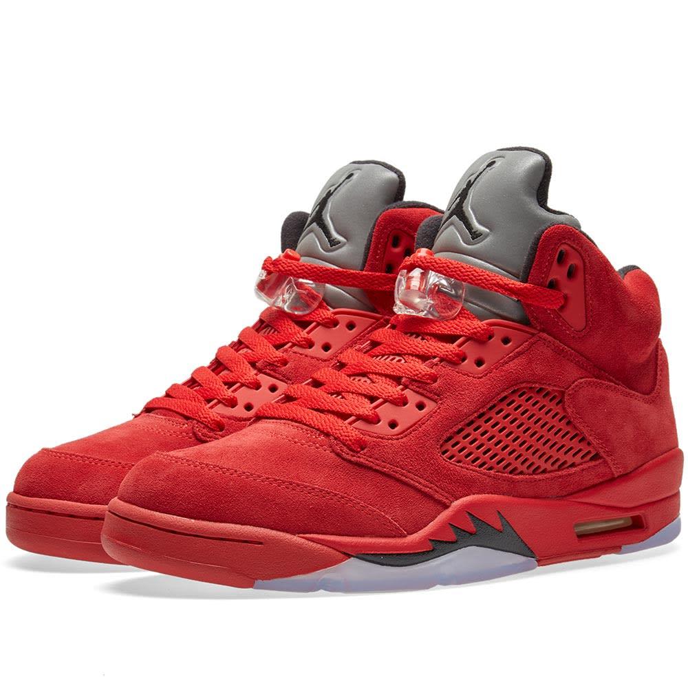 750b926ed90bc6 Nike Air Jordan 5 Retro University Red   Black