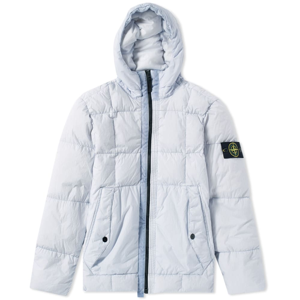 14b0350131ee Stone Island Crinkle Reps Nylon Down Filled Parka Ice
