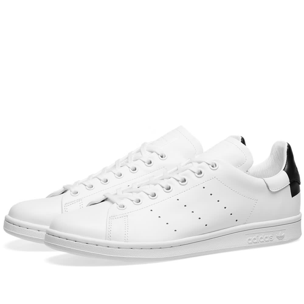 sports shoes 7aeb5 503c6 Adidas Stan Smith Recon White, Black   Gold   END.