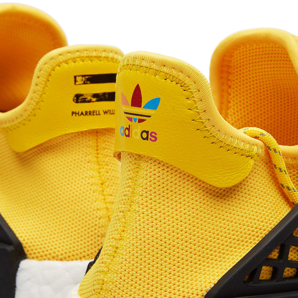 2f5f64367909d Adidas x Pharrell Williams Hu Human Race NMD EQT Yellow