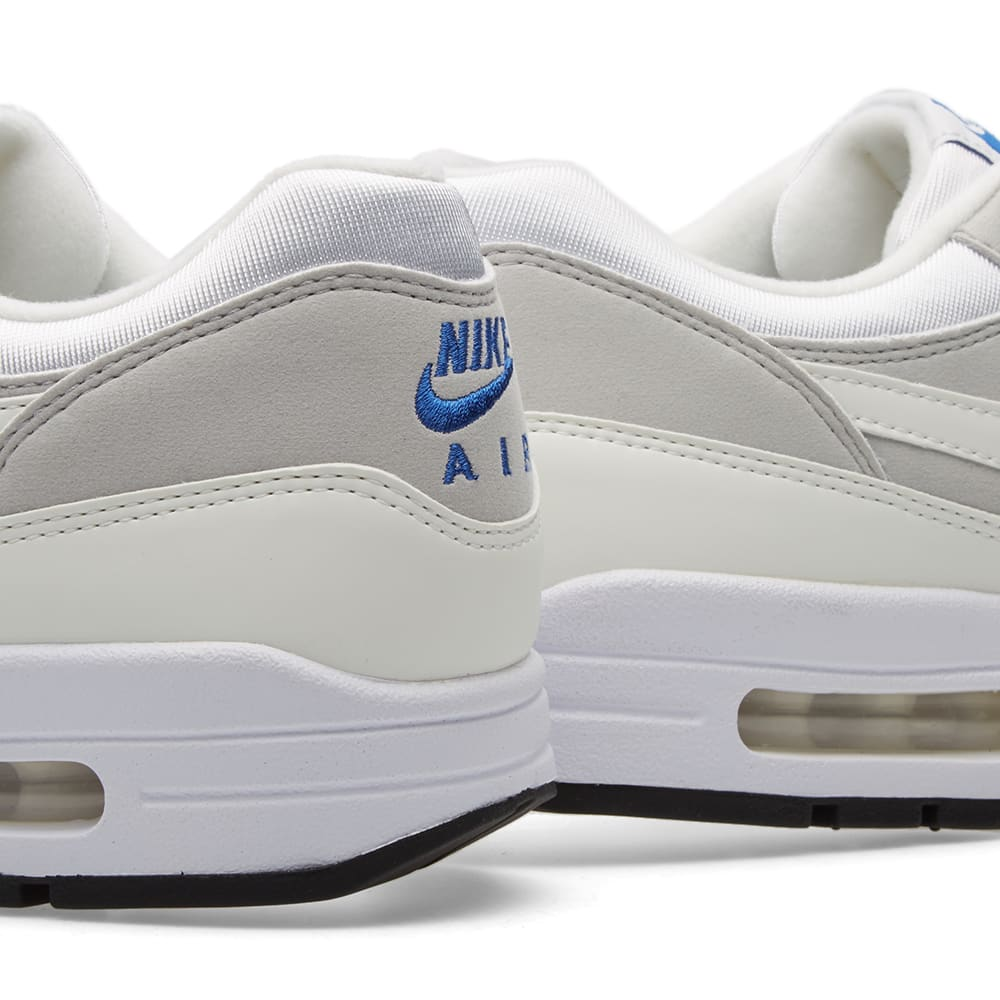 cheap for discount e4ee9 a4bab Nike Air Max 1 CX QS White   Varsity Royal   END.