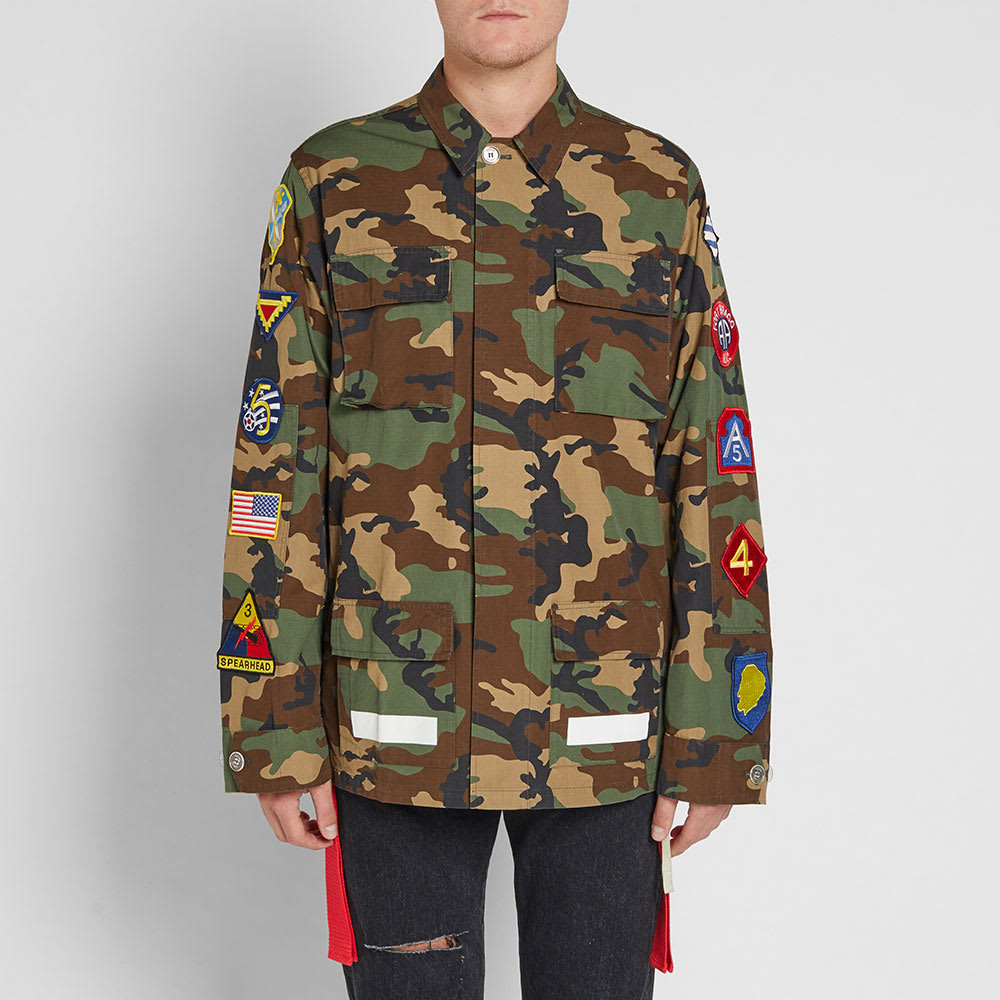 7e2806524011 Off-White Archive Field Jacket Camouflage   White