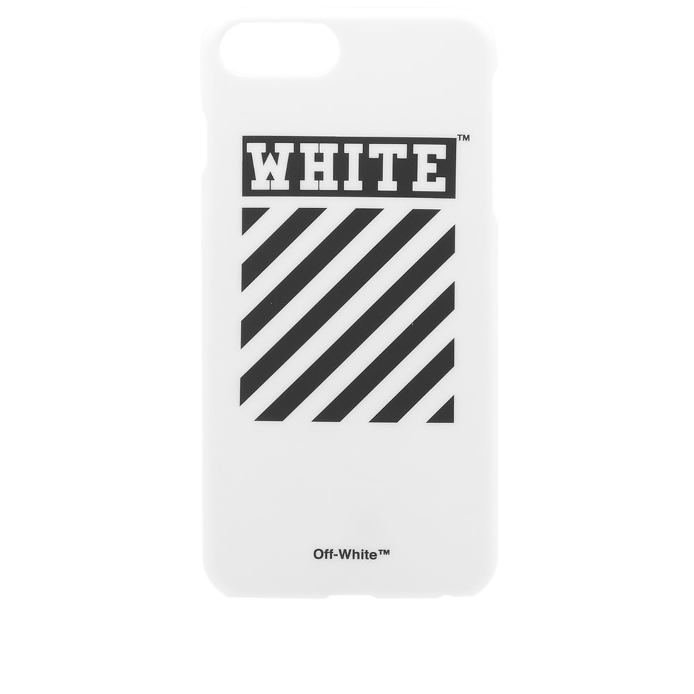 separation shoes 4d64e 741a6 Off-White Diagonals iPhone 7 Plus Case