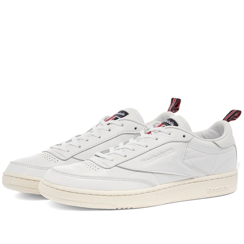 reebok club c 85 navy white