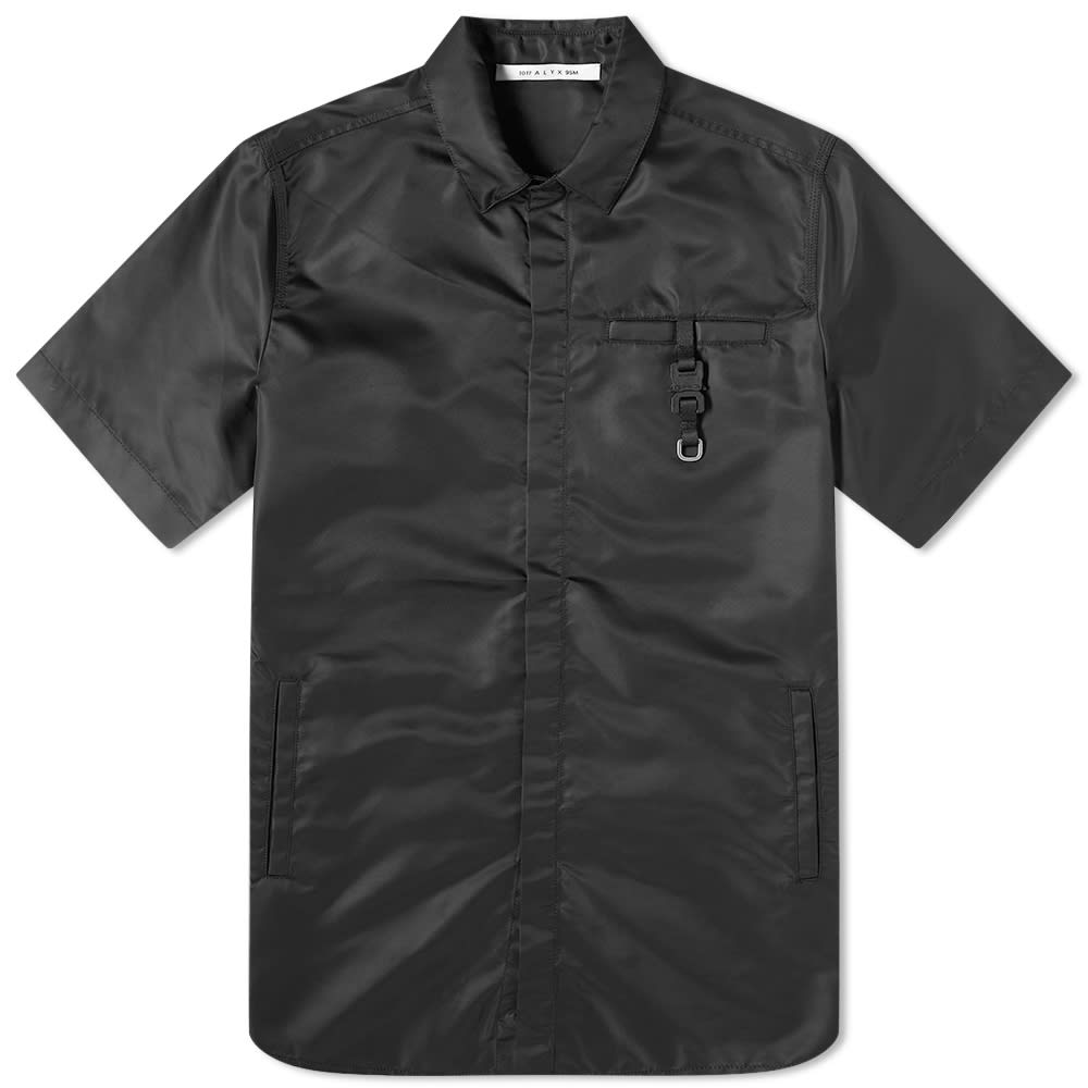 Alyx 1017 ALYX 9SM Buckle Detail Logo Short Sleeve Shirt