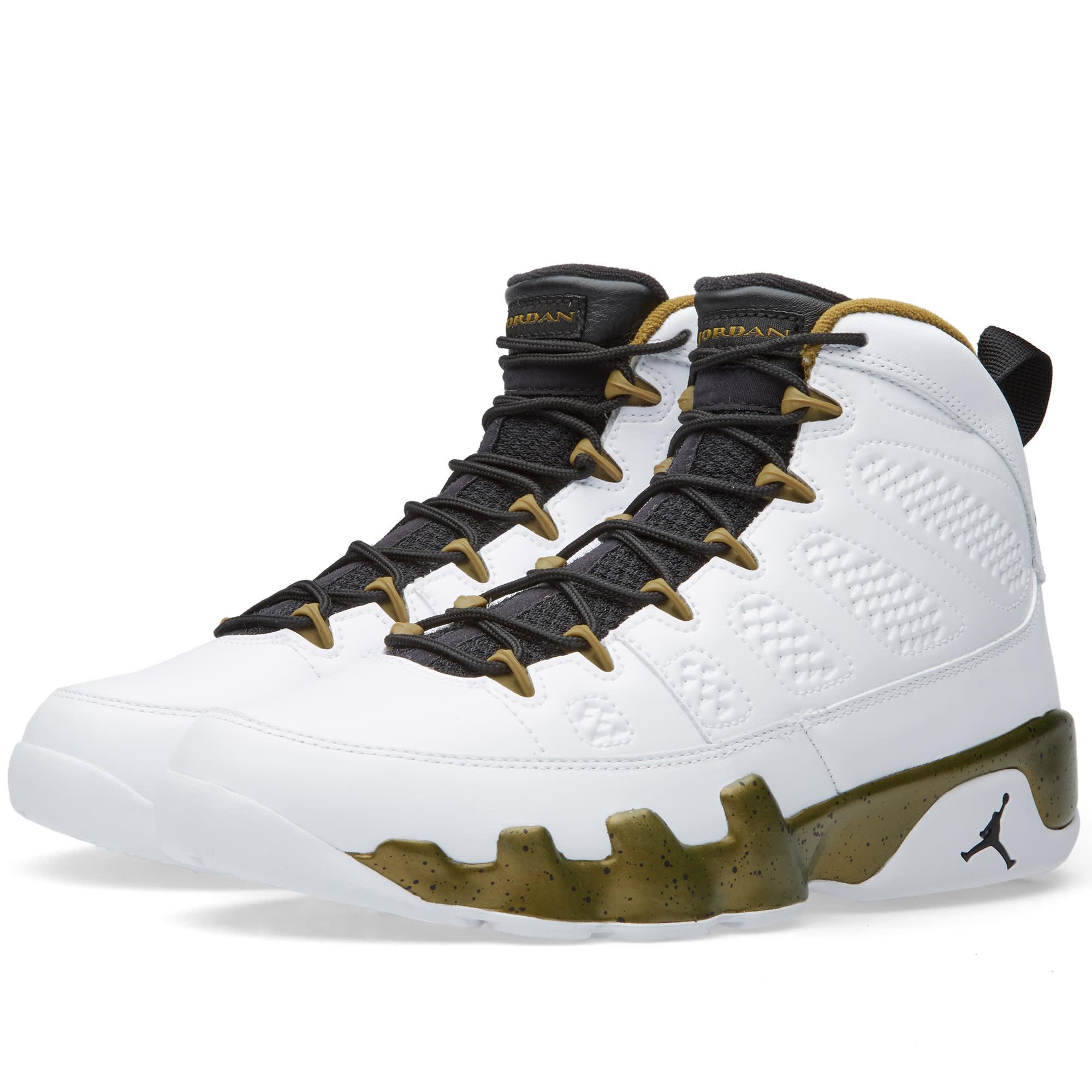 4889382dcd165c Nike Air Jordan 9 Retro  The Spirit  White