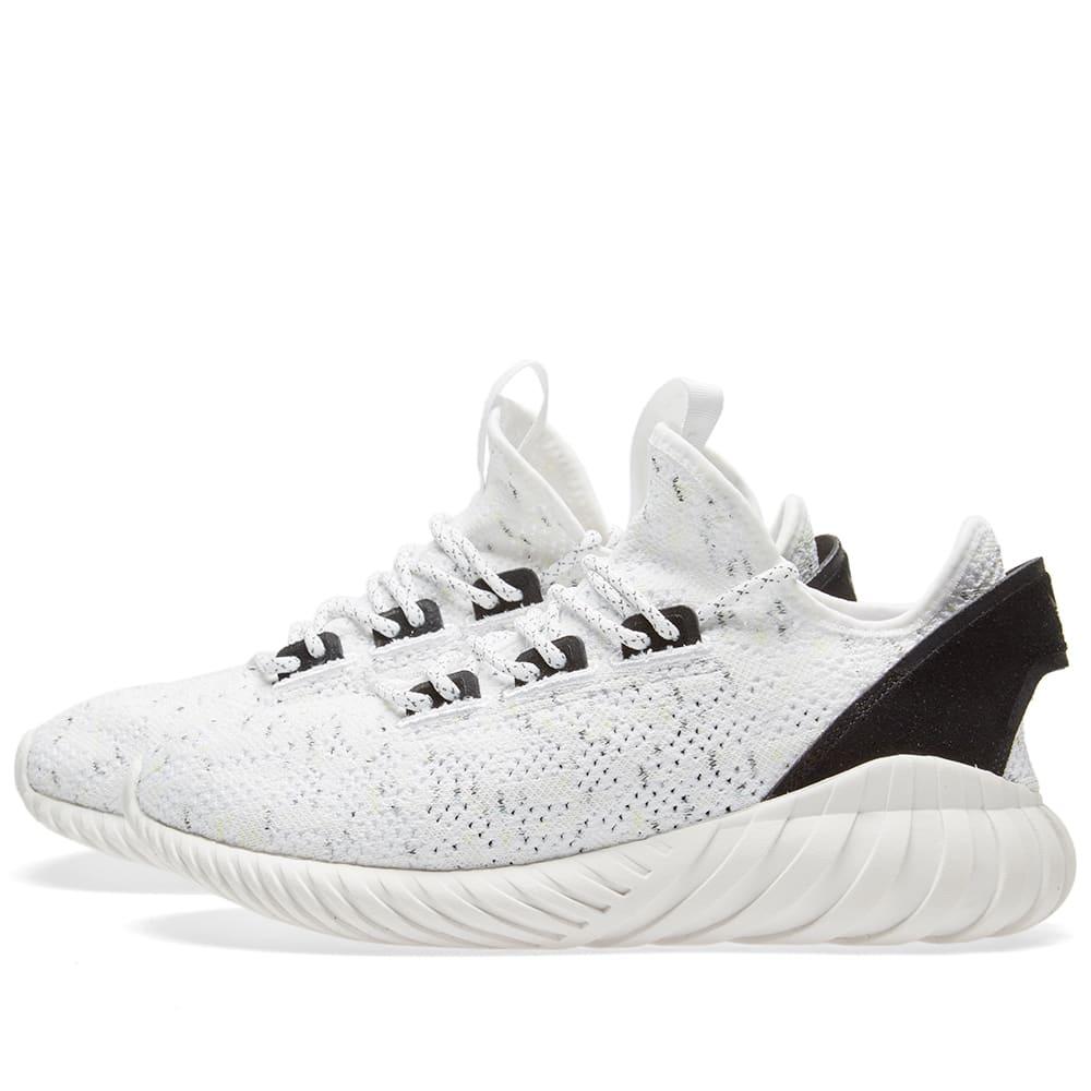 sports shoes f1650 3db76 Adidas Tubular Doom Sock PK White   END.